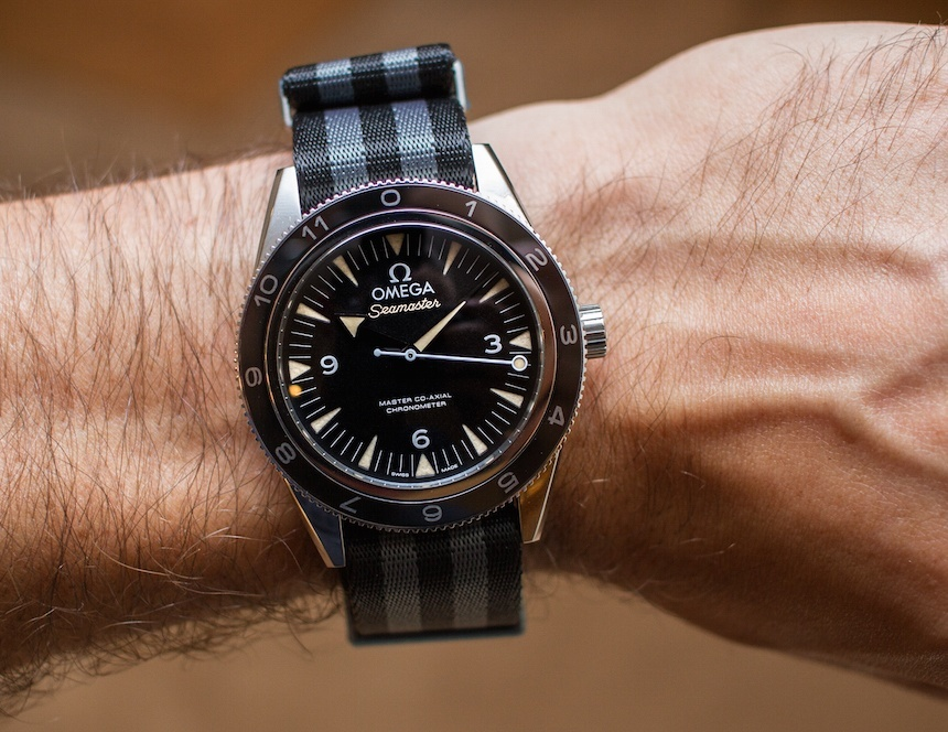 58b3c541319 Hands-On Replica Omega Seamaster 300 Spectre Limited Edition James ...