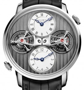 Replica-Arnold-Son-DTE-Double-Tourbillon-Escapement-Dual-Time