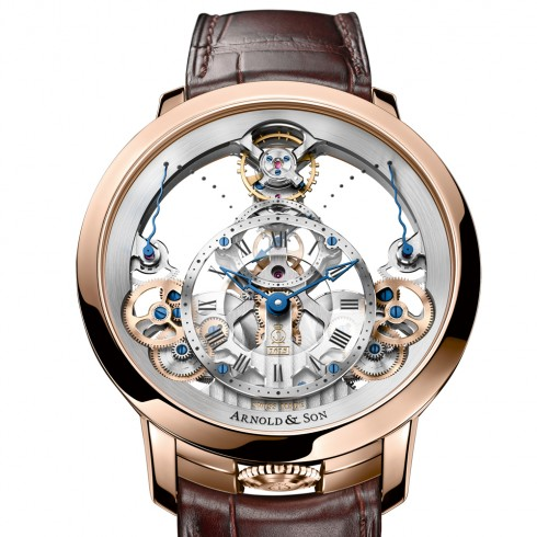 Arnold & Son - factory visit and focus on the Time Pyramid