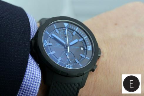 Hands-on sihh 2014 masculine iwc aquatimer chronograph replica.