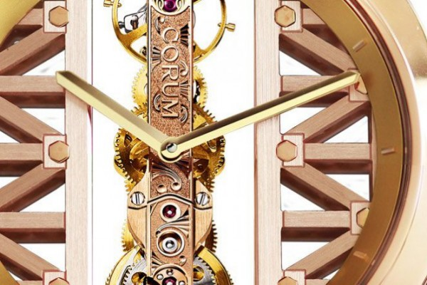 Take A Look at the Brilliant Round Corum Golden Bridge Replica Skeleton Dial Watch