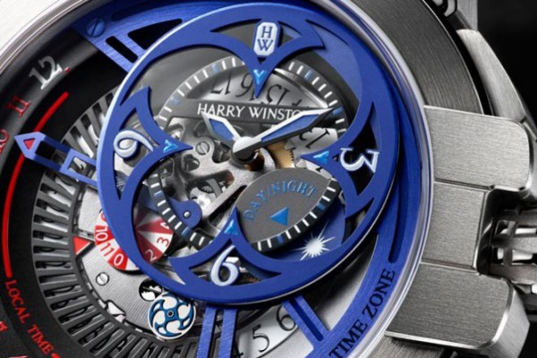 2015 Only Watch Replica Harry Winston Ocean Dual Time Retrograde Steel Masculine Style Watch