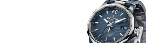 The Classic Replica Blue Dial Corum Admiral's Cup Legend 42 Gunmetal Watch