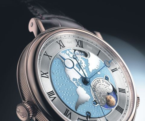 Breguet Classique 5717 Hora Mundi Replica World Timer Watch
