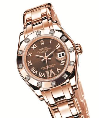 Rolex Lady-Datejust Pearlmaster Diamonds watch replica