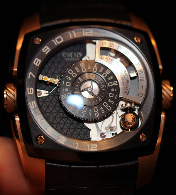 Cyrus Klepcys Watch Hands-On Hands-On
