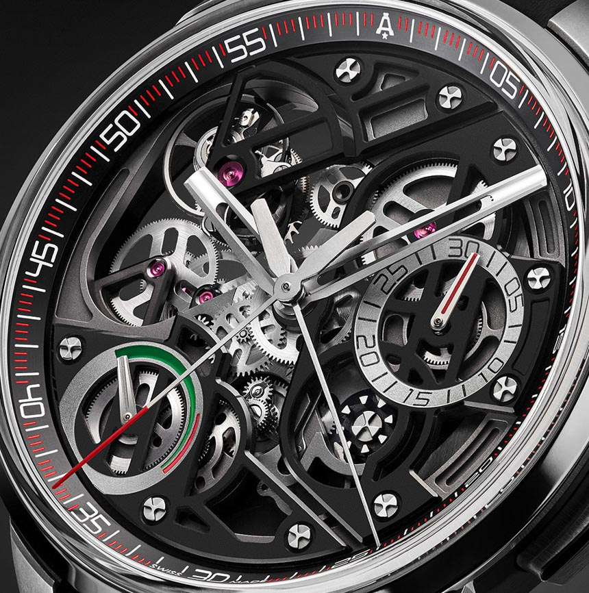 Angelus U30 Tourbillon Rattrapante Watch Watch Releases