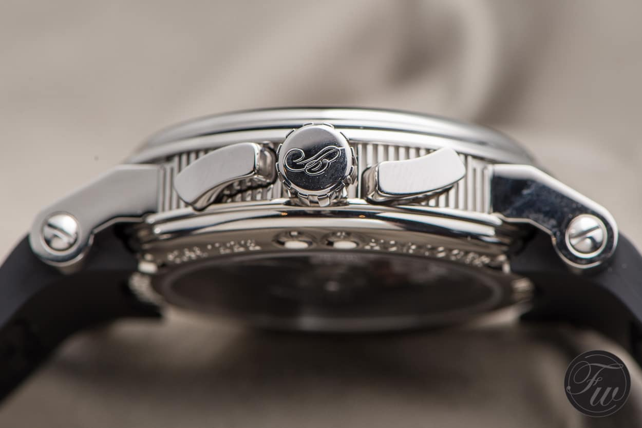 Breguet Marine - Fluted case band