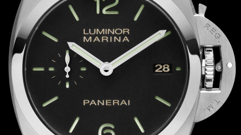 29cb5501b4a Closer Look At The Rose Gold Steel Panerai Luminor Marina 1950 3 ...