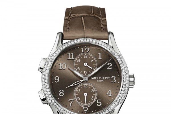 Patek Philippe Replica Ladies Complications Calatrava Travel Time Watch Ref.7134G-001