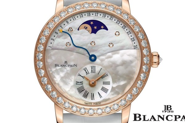 Reviewing The Shimmering Blancpain Quantieme Retrograde SallyWatch in Cheap Price