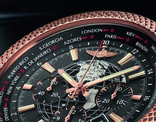 18-carat Rose Gold Replica Breitling for Bentley B05 Unitime Chronograph Watch