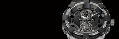 Concord C1 BlackSpider Tourbillon watch