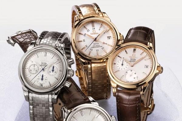 Omega De Ville Co-Axial Chronograph watch replica