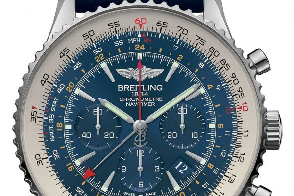 Breitling Navitimer GMT Aurora Blue Replica watch