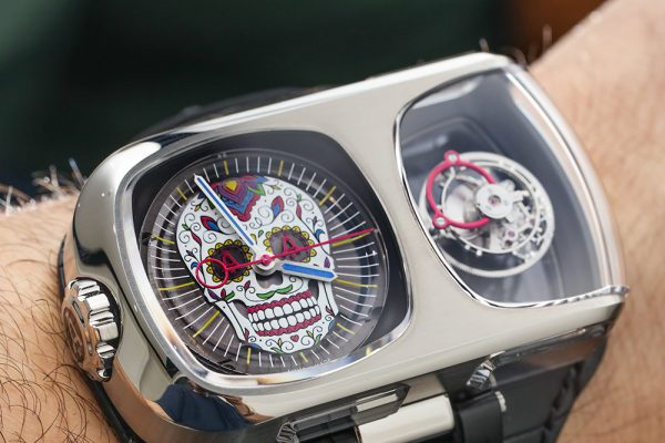 Angelus U10 Tourbillon Calavera Watch Hands-On For Dia De Muertos Hands-On